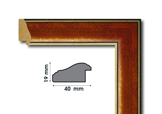 E 4280 Рамки от дърво