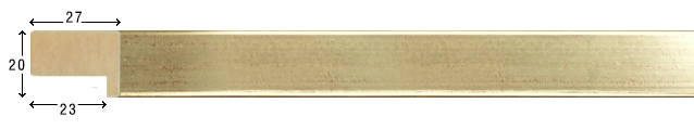 E 2001 Wooden mouldings