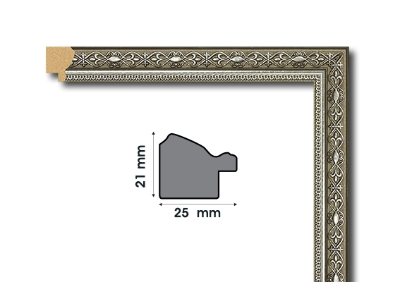 А 2521-5 Рамки от полистирен
