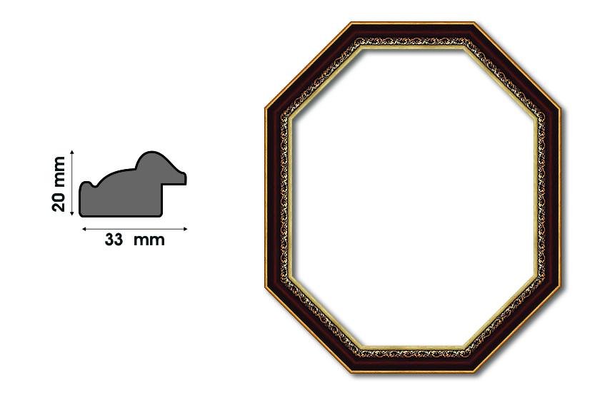 Осмоъгълни рамки S 3300 Луксозни и нестандартни рамки