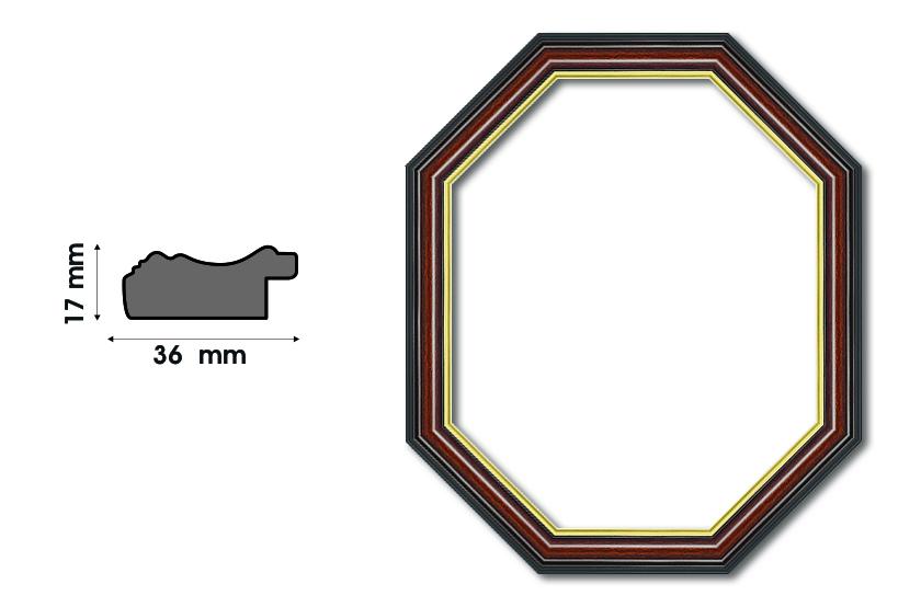 Осмоъгълни рамки S 3610 Луксозни и нестандартни рамки