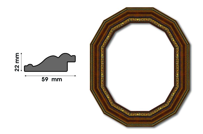 Дванадесетоъгълни рамки S 5900 Луксозни и нестандартни рамки