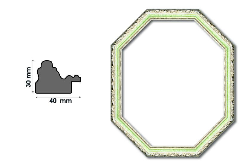 Осмоъгълни рамки F 4030-2 Луксозни и нестандартни рамки