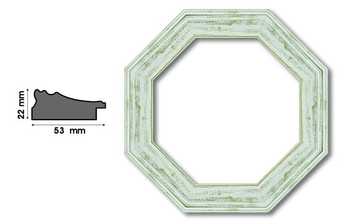 Осмоъгълни рамки А 53011 Луксозни и нестандартни рамки