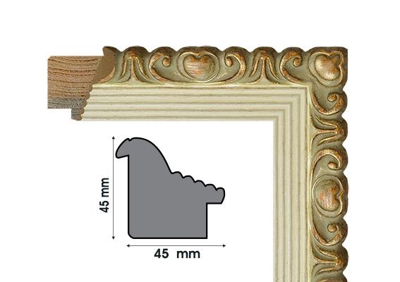 Е 4545-6 Рамки от дърво
